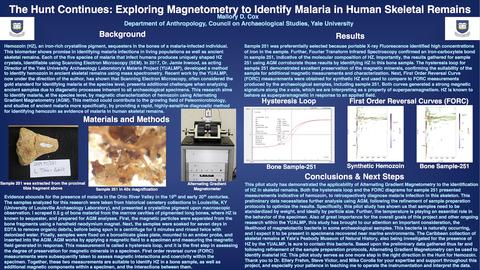 The Hunt Continues: Exploring Magnetometry to Identify Malaria in Human Skeletal Remains